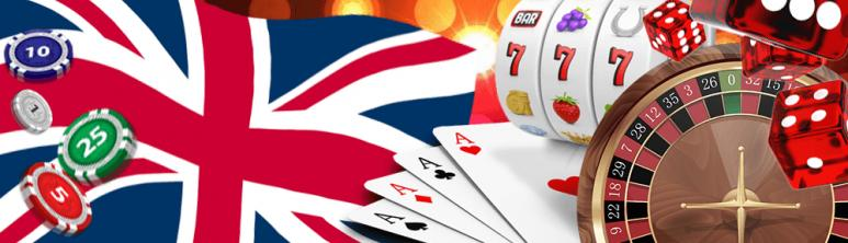 UK Flag and online casino games
